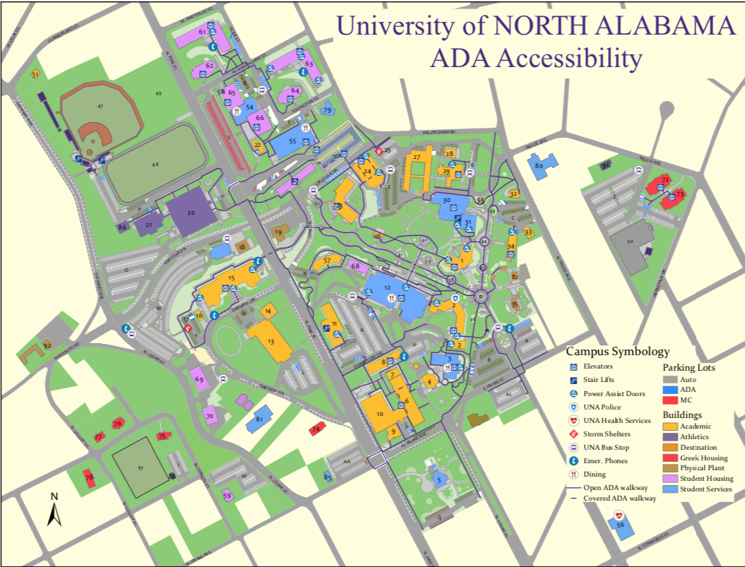 Welcome to the ADA Homepage! | University of North Alabama