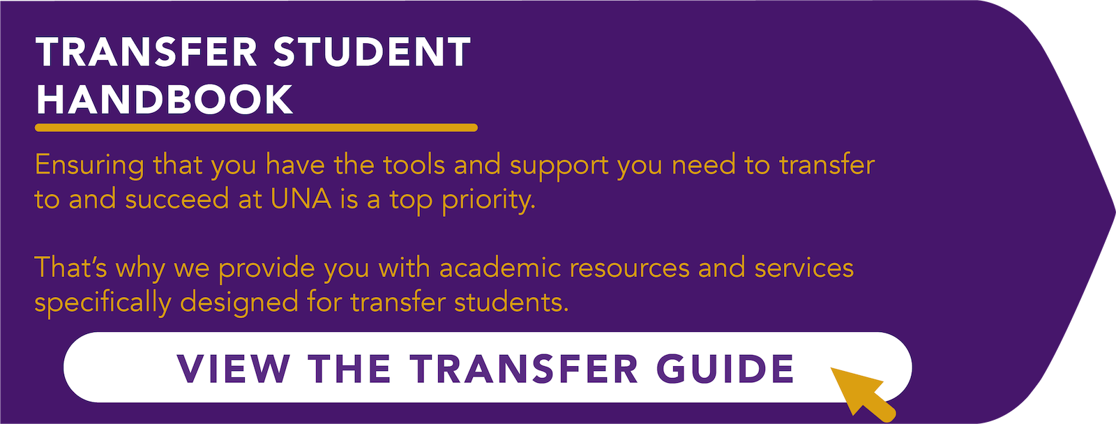 Click here to open the transfer student handbook