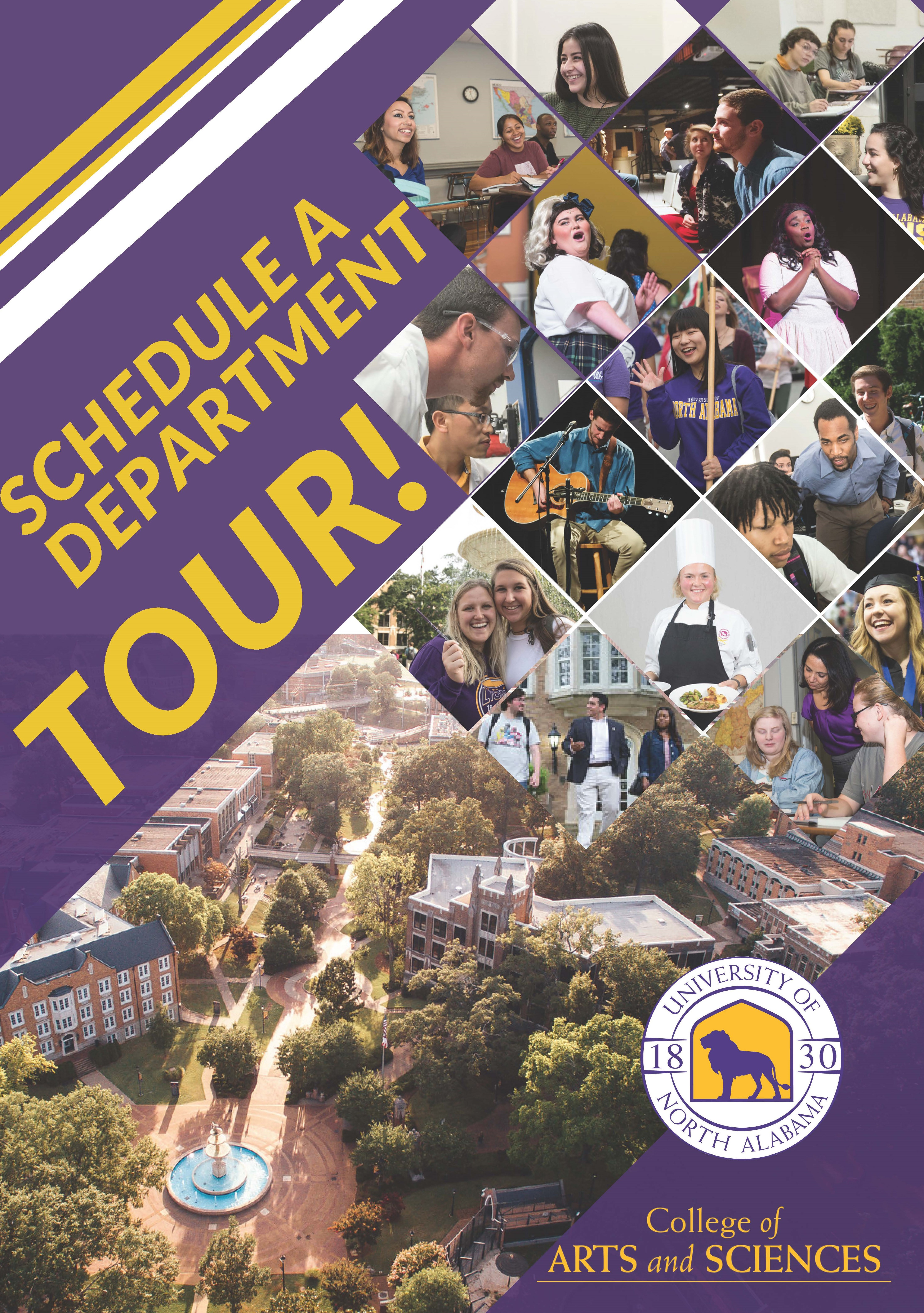 Schedule a Department Tour
