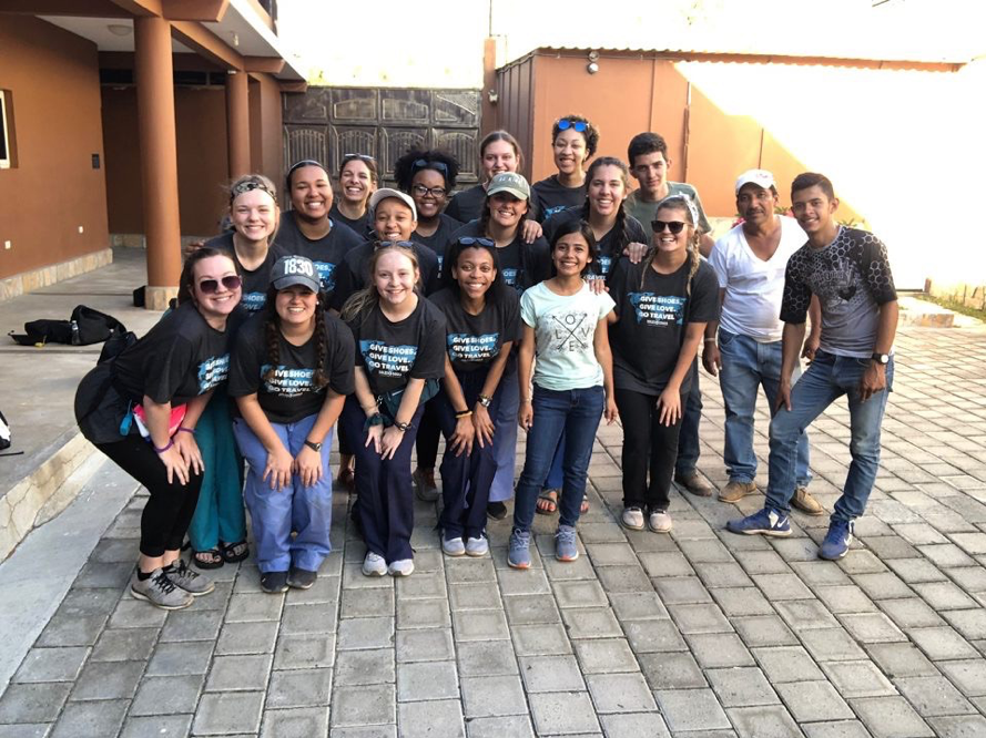 AB students in Guatemala