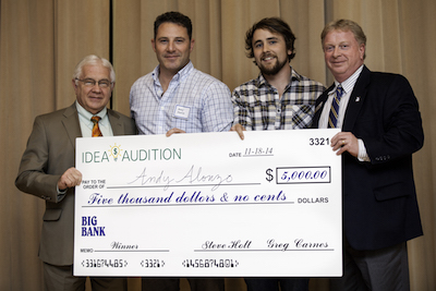 UNA College of Business Pitch Contest winners