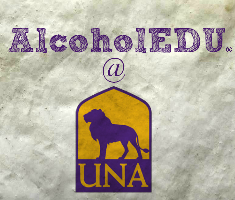 AlcoholEDU self assessment at UNA