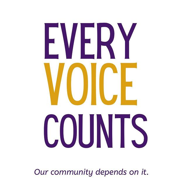 every voice counts graphic