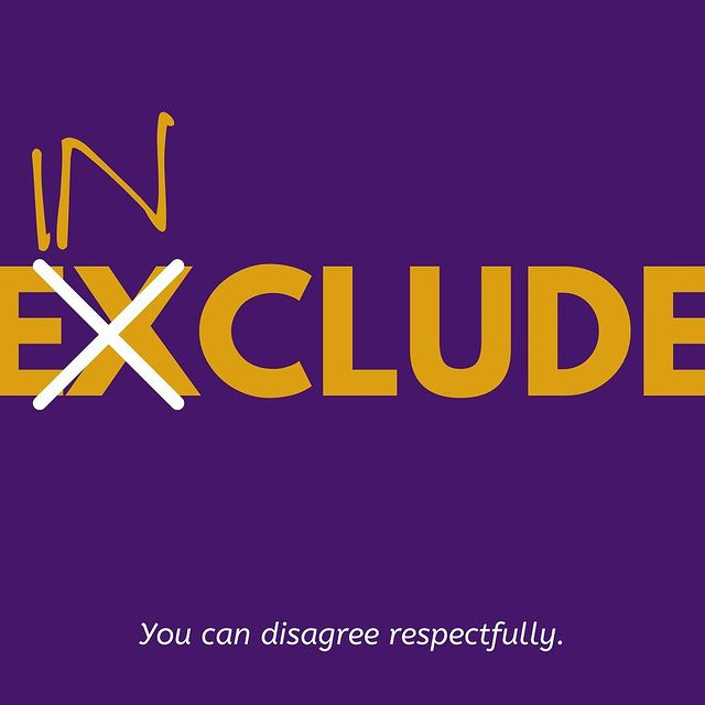 include not exclude graphic