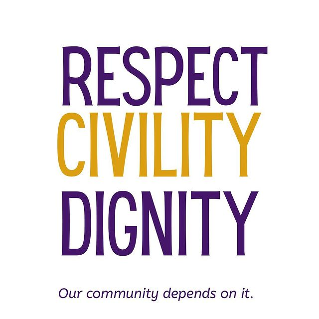 respect civility dignity graphic