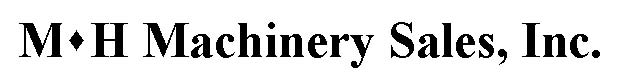 M H Machinery Sales Logo