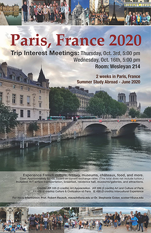Paris 2018 Summer Flyer