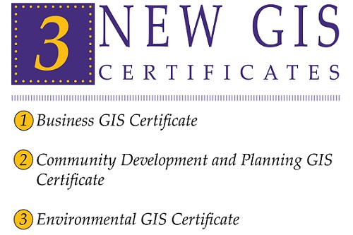 New Topical GIS Certificates Now Offered