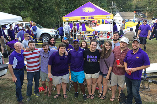 Tailgating on Spirit Hill