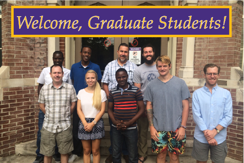 Welcome, Graduate Students!