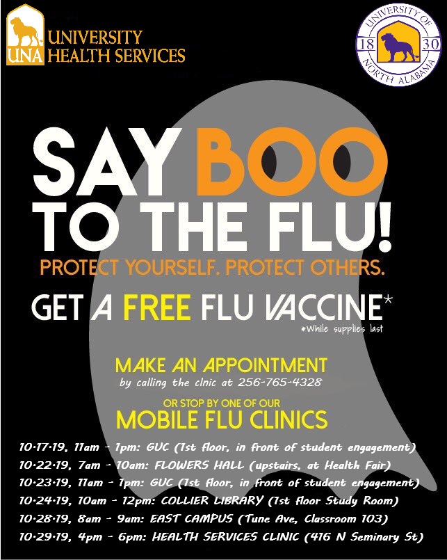 Boo to the Flu 2019