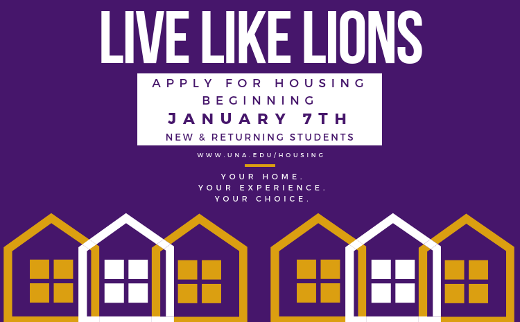 APPLY FOR HOUSING!