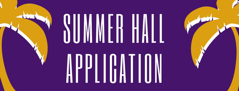 Summer Hall Application