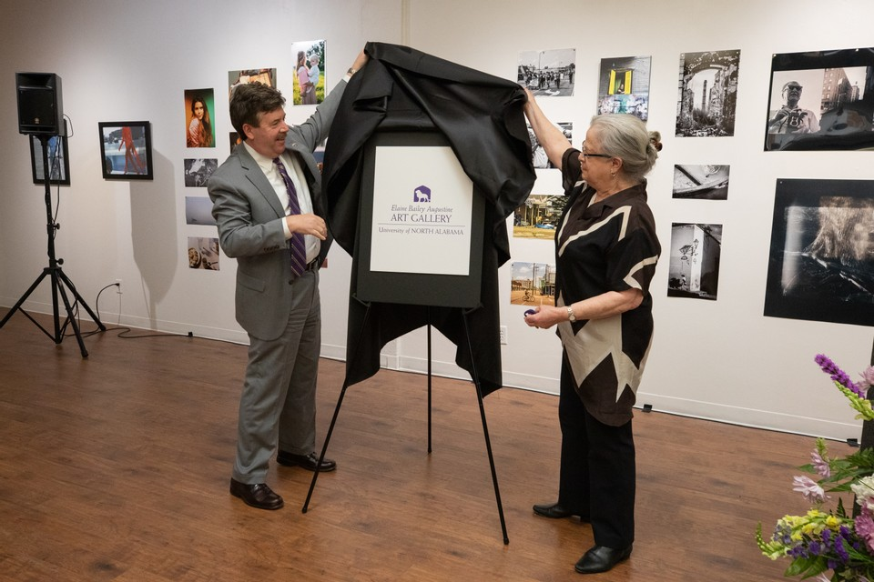 UNA Art Gallery Named for Master Pastelist Elaine B. Augustine