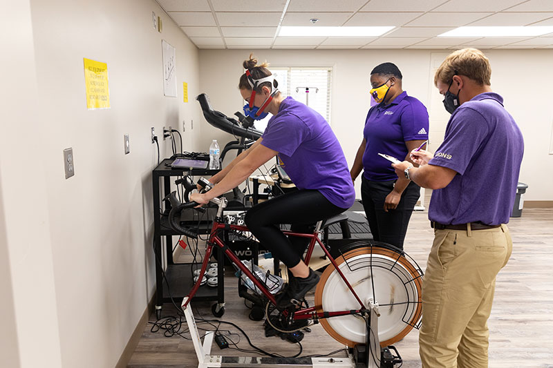 human performance lab as part of the doctoral program in kinesiology at University of North Alabama