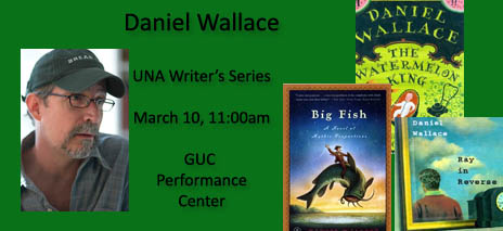 Check out books by Daniel Wallace