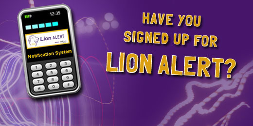 UNA Lion Alert Emergency Notification System