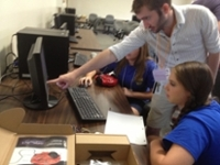 Robot Programming, UNA Summer STEM Camp 2013