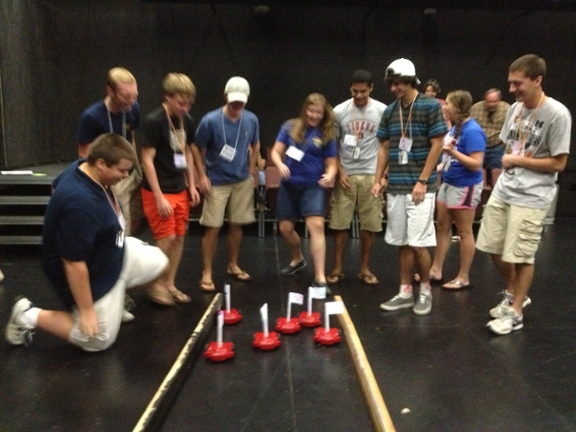 Robot Derby, UNA Summer STEM Camp 2013