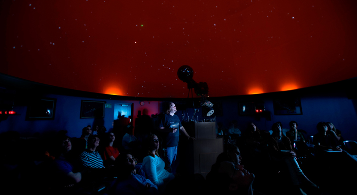 Welcome to the UNA Planetarium Page!