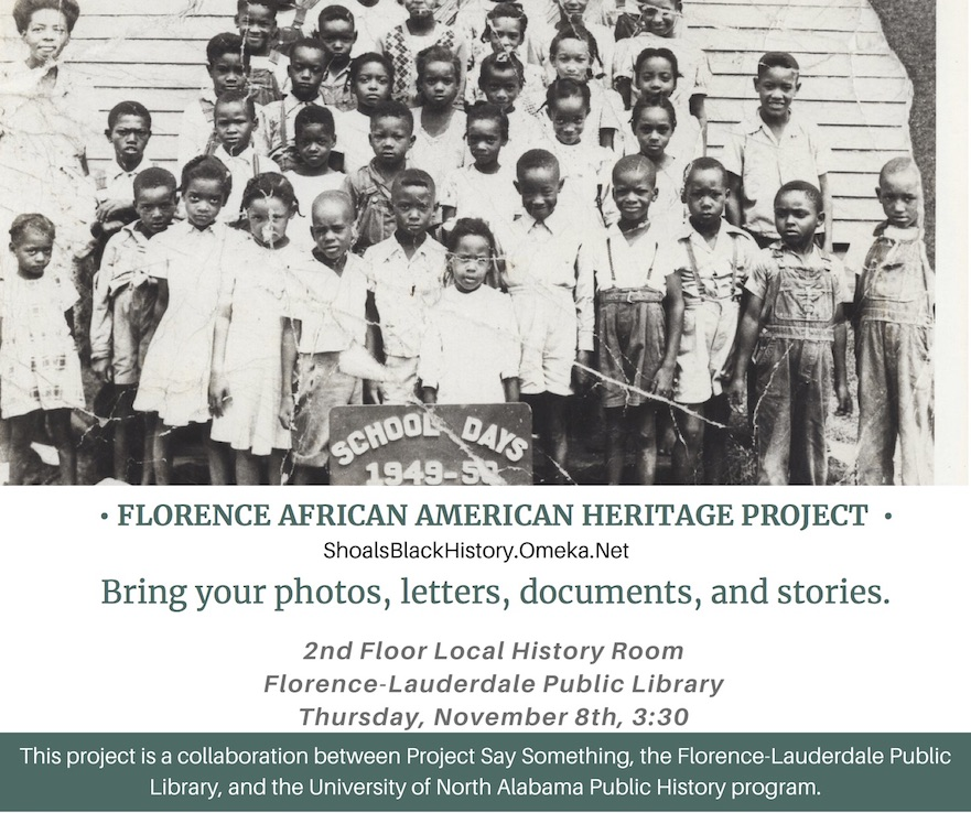 Shoals Black History Collection #myUNA