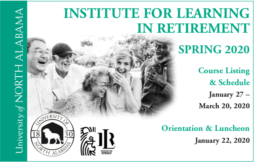 Institute for Learning in Retirement Fall 2019