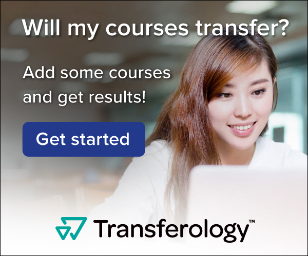 click here to check if your college credits will transfer to UNA with Transferology