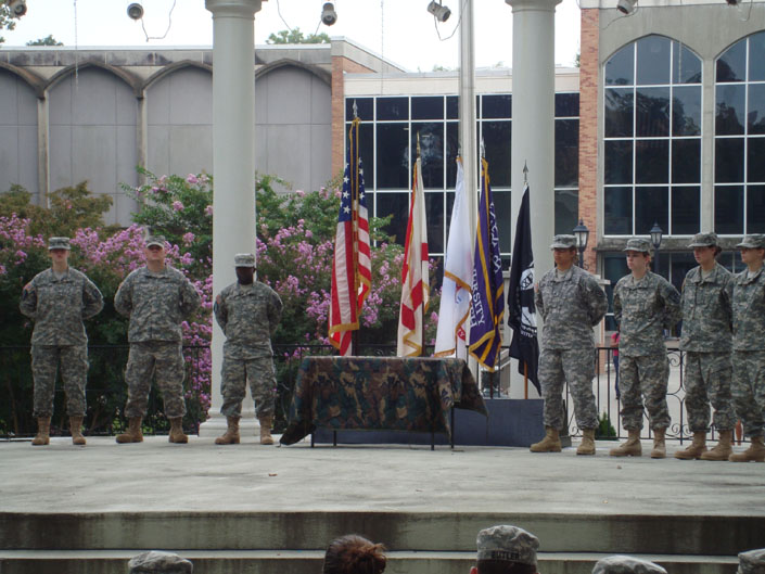 how to join rotc in college