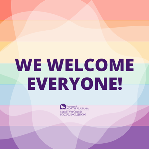 We Welcome Everyone!