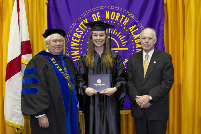 Rachel Bond, Fall 2012 Social Work Graduate and winner of the Keller Key for Academic Excellence