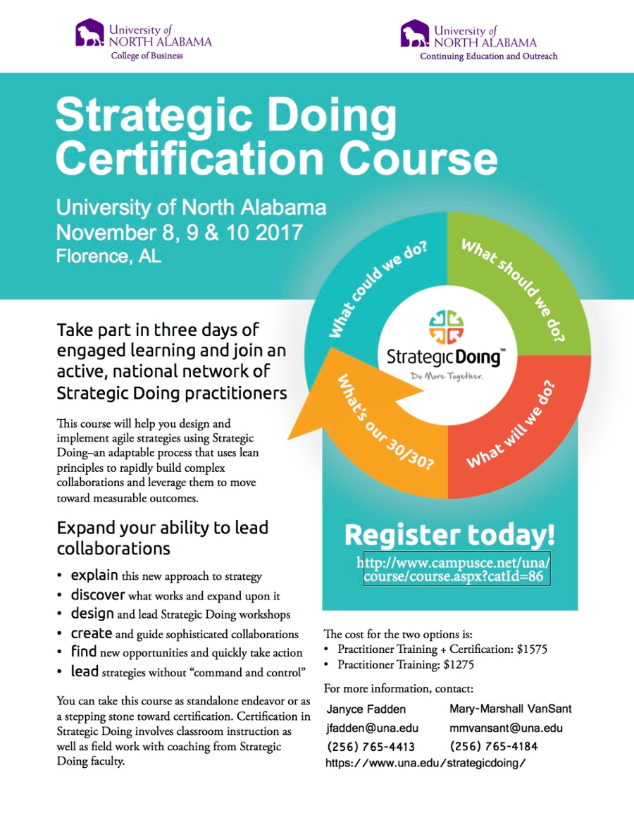 Strategic Doing Certification Course