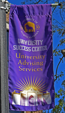 University Advising Center Flag