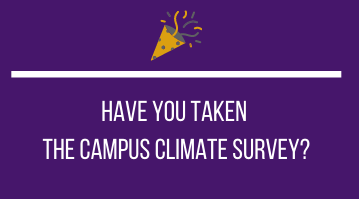 Win Prizes! Complete the Climate Survey!