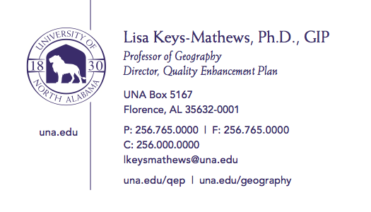 Request business cards university of north alabama business card sample colourmoves